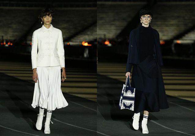 Pour son défilé Croisière, Dior met le savoir-faire grec à l'honneur