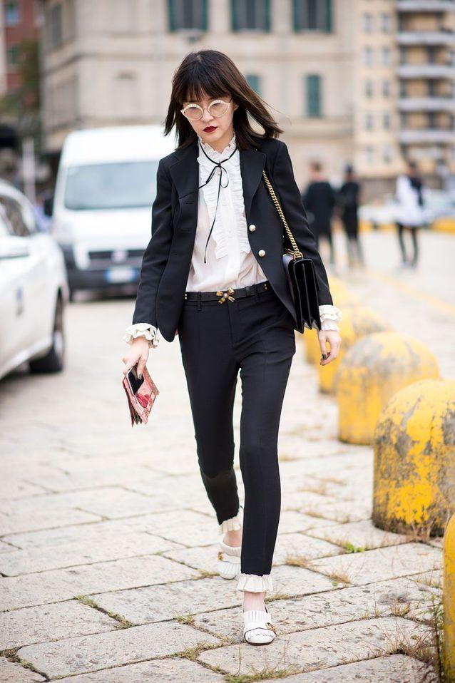 Un blazer noir