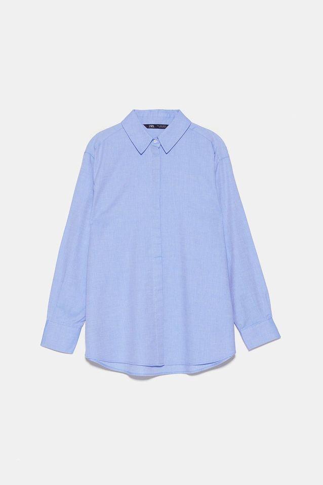 Chemise en coton Zara