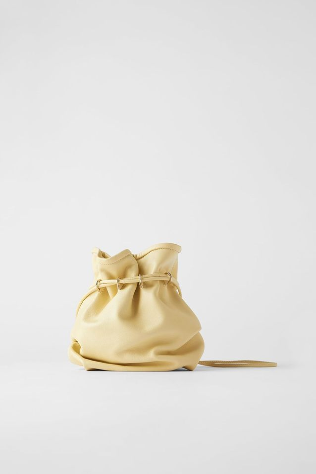 Mini sac jaune Zara