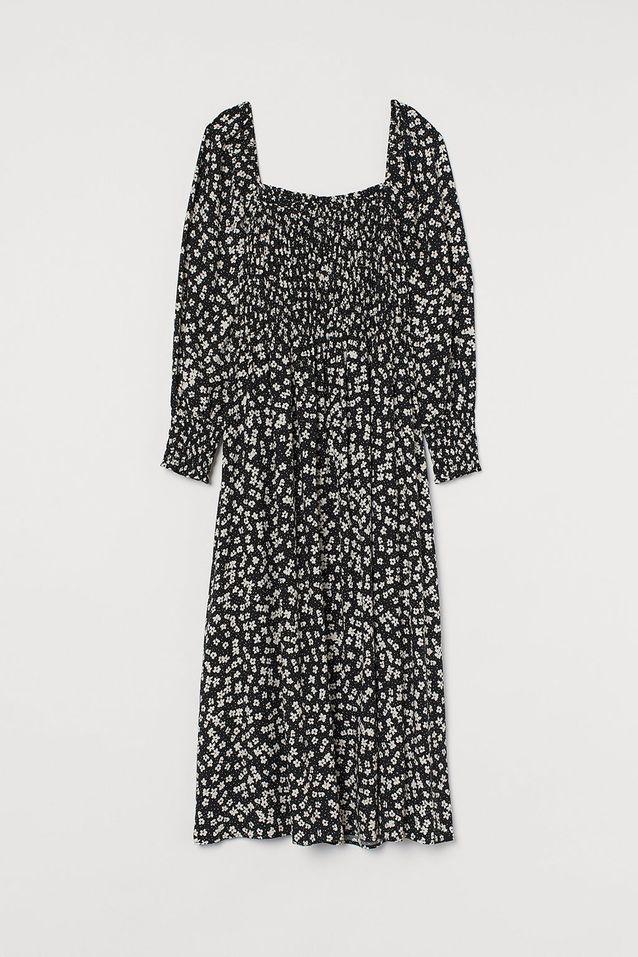 Robe à smocks H&M