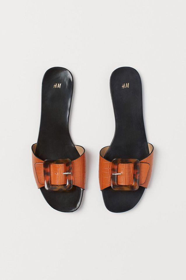 Sandales plates H&M