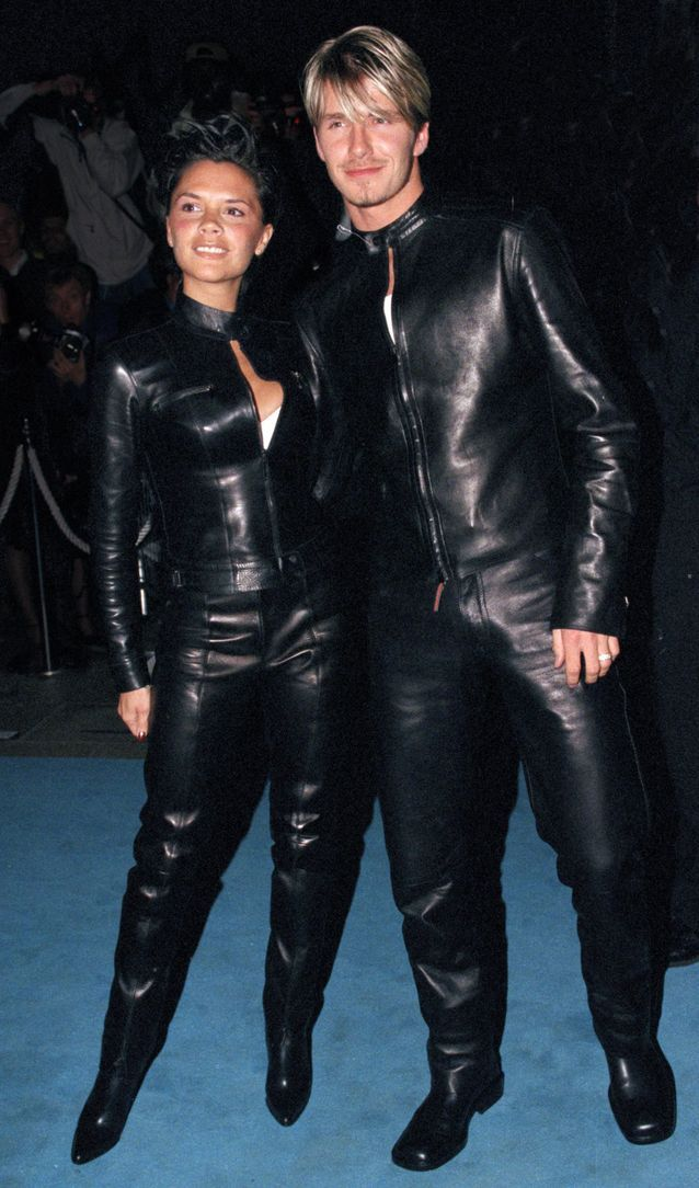 Victoria et David Beckham, 1999