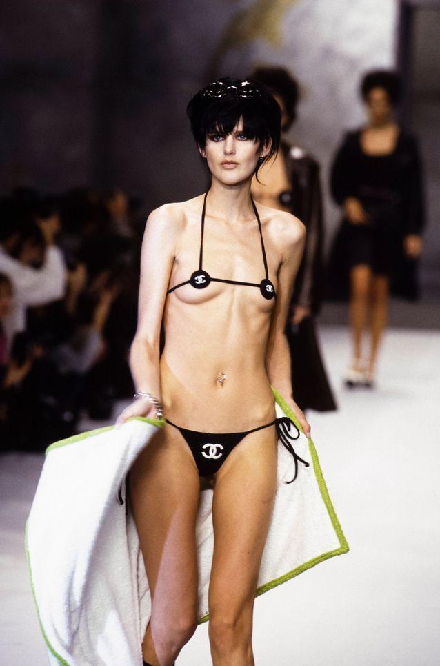 Stella Tennant pour Chanel