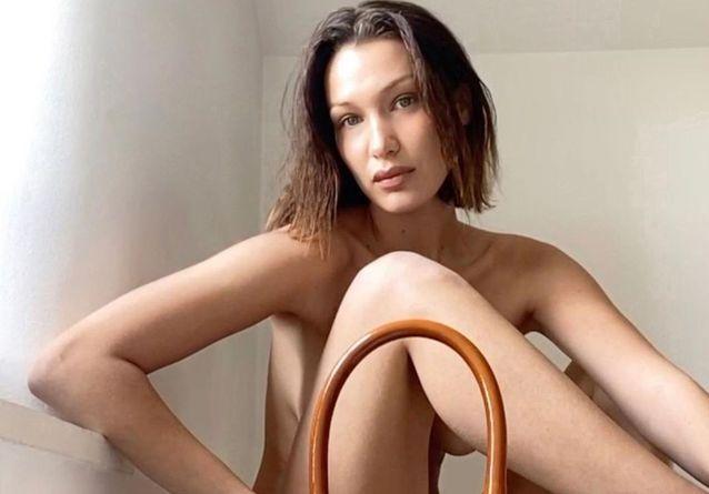 Bella Hadid sur Facetime, le nouveau shooting sexy de Jacquemus
