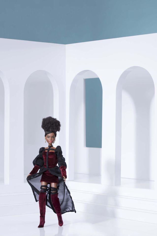 La Barbie déesse guerrière de Fanny Bonnet