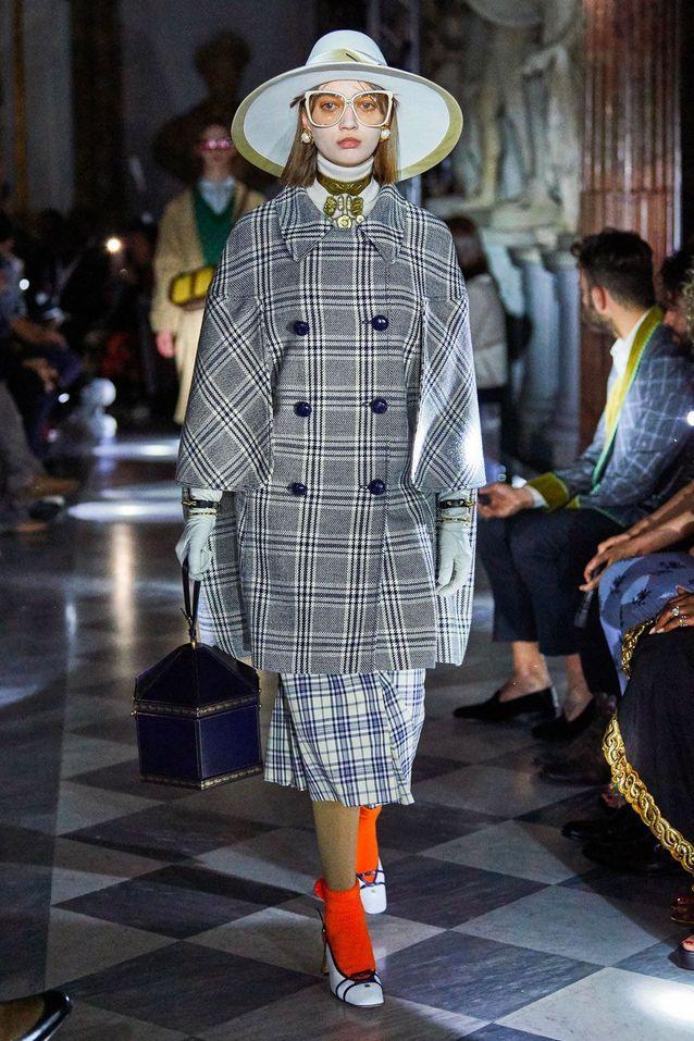 Le défilé Croisière Gucci