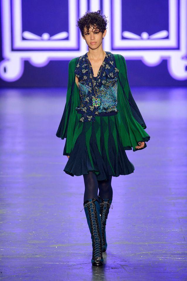 Anna Sui automne-hiver 2016-17
