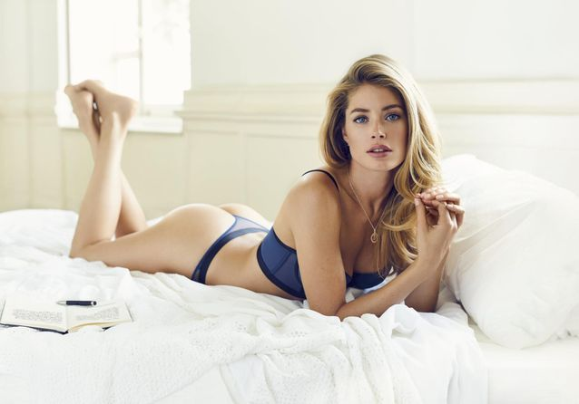 Doutzen Kroes : une première ligne de lingerie avec la marque Hunkemöller