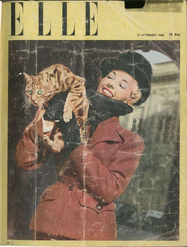 La première couverture de ELLE