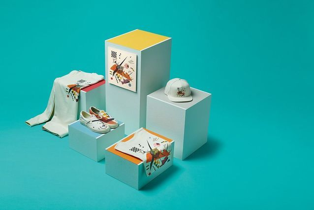 Vans x MoMA, la capsule Vasily Kandinsky