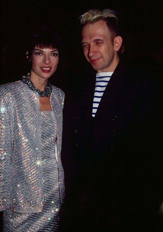Jean-Paul Gaultier et Anna Wintour