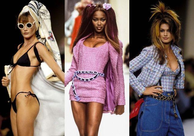 #ELLEsesouvient : Chanel printemps-été 1994, l'apogée du style Lagerfeld