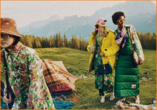 The North Face x Gucci : une collaboration à la conquête des sommets !
