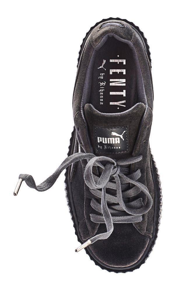 économiser 4af5e a54c9 Creepers grises Fenty Rihanna by Puma - It pièce : les ...