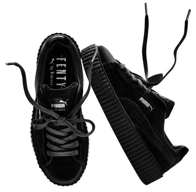 Creepers noires Fenty Rihanna by Puma It pièce : les