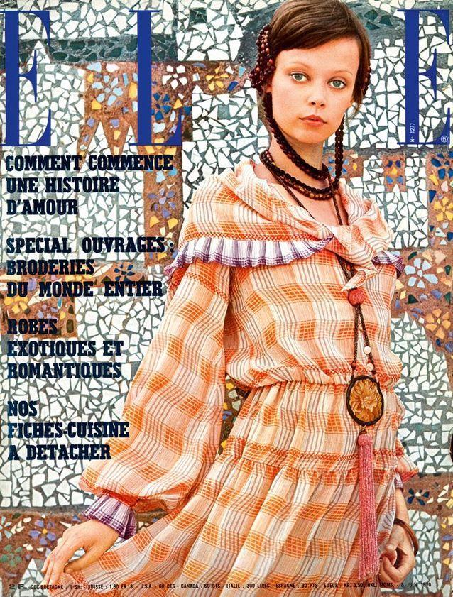 Couverture elle magazine 1970