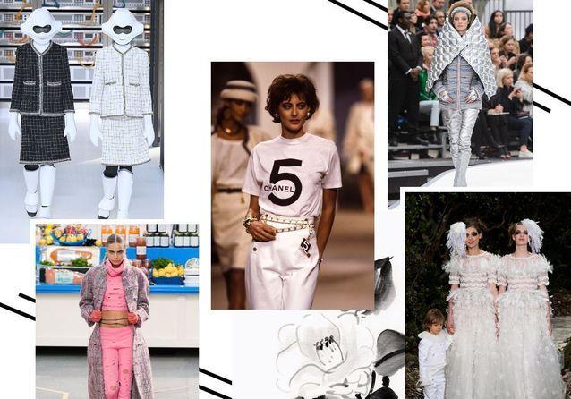 Karl Lagerfeld : les 30 looks les plus iconiques des défilés Chanel