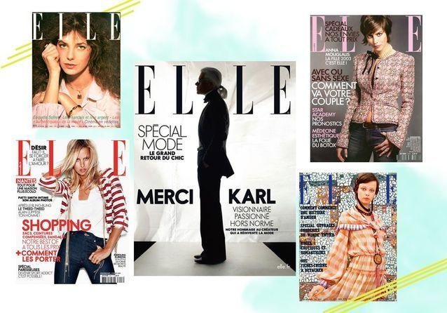 Karl Lagerfeld : ses plus belles couvertures pour ELLE
