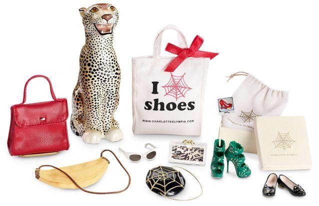 Les accessoires de la Barbie Charlotte Olympia