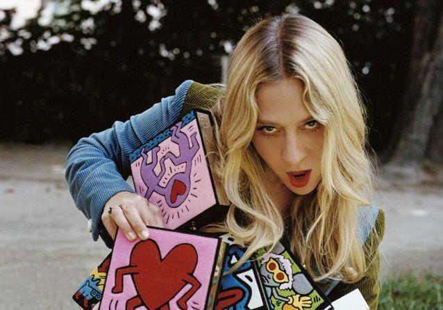 L'instant mode : les peintures d'Olympia Le-Tan et Keith Haring