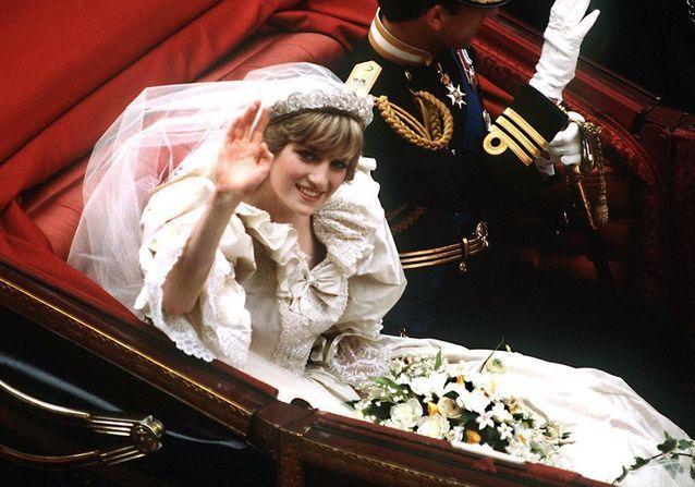 Lady Diana: her wedding dress on display at Kensington Palace