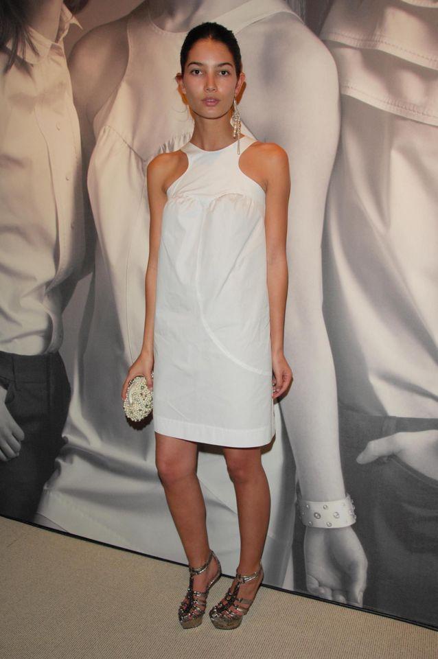 Lily Aldridge lors d'un événement organisé par la marque GAP en 2008