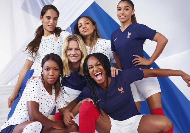 Nike dévoile les maillots de la coupe du monde féminine de football et vous allez vouloir celui des Bleues !