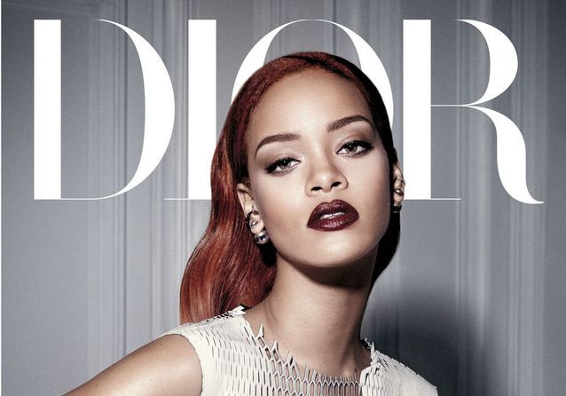 88df8f7552 Photos : Rihanna, star du dernier numéro de Diormag - Elle