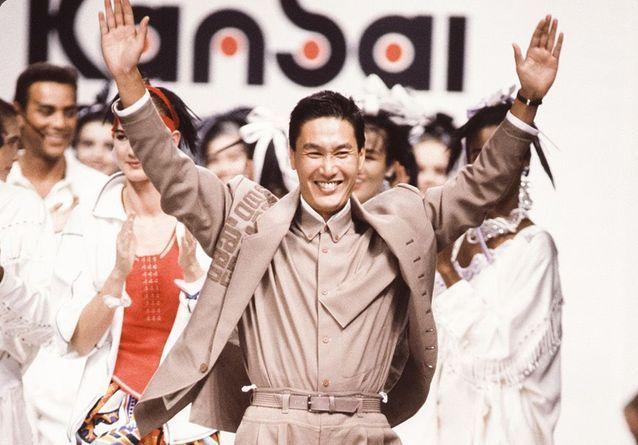 Pourquoi Kansai Yamamoto était un génie de mode