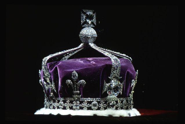 La couronne de la reine mère