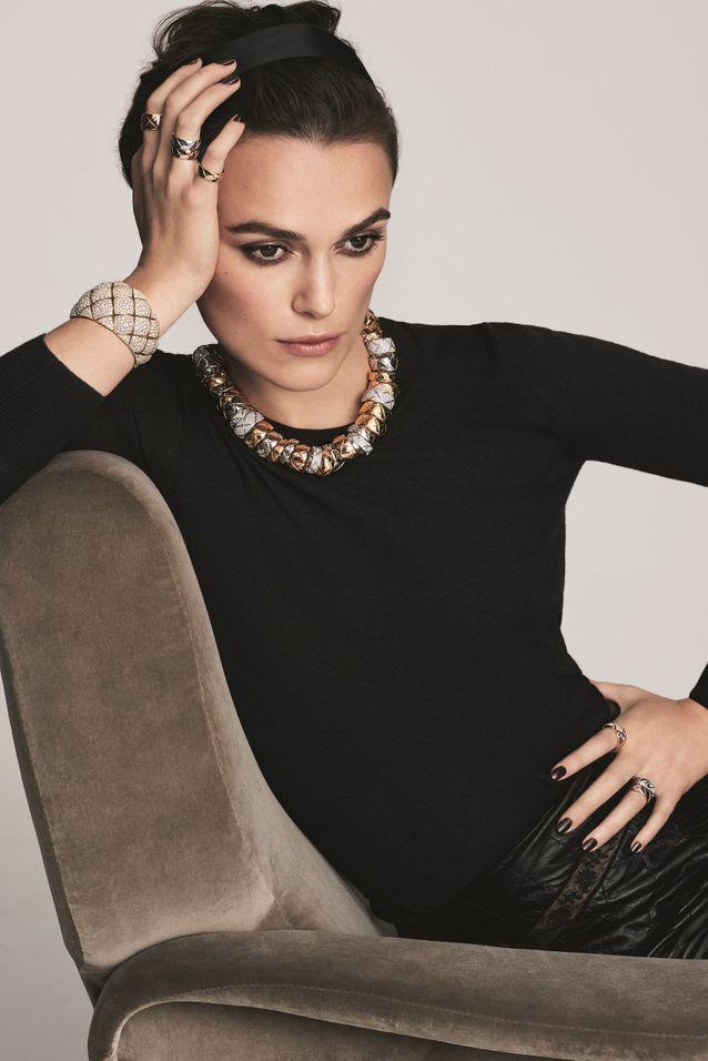 Keira Knigthley pour Coco Crush de Chanel