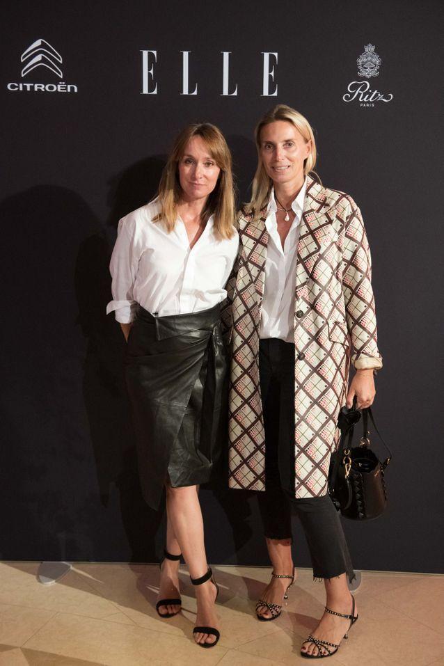 Erin Doherty (ELLE) et Valérie Leberichel (Miu Miu)