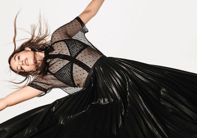 Série mode : dompter les transparences avec glamour