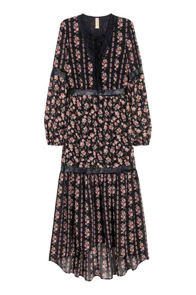 newest collection really comfortable detailing Robe longue H&M - 15 pièces H&M qui paraissent 10 fois leur ...