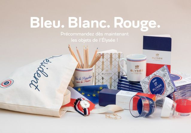 T-shirt Première Dame, mug Emmanuel Macron : la boutique officielle de l'Elysée est ouverte !