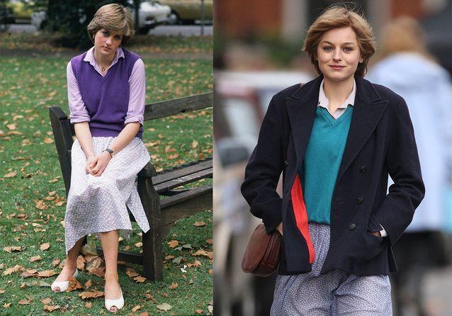 L'ensemble col V et jupe plissée qui a fait scandale