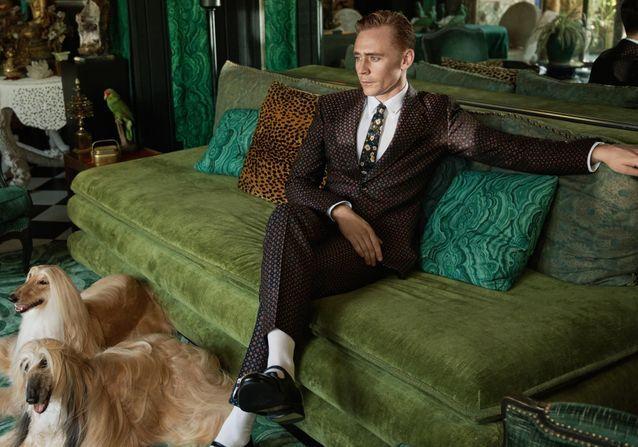 #PrêtàLiker : Tom Hilddleston, nouveau visage de Gucci Tailoring