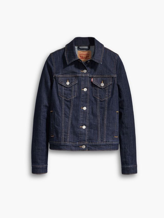 ORIGINAL TRUCKER JACKET EVEN RINSE