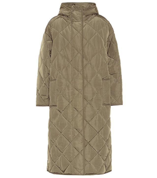 Doudoune longue quilted coat Stand Studio