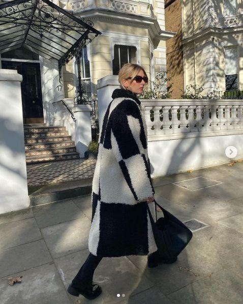 Le manteau en shearling