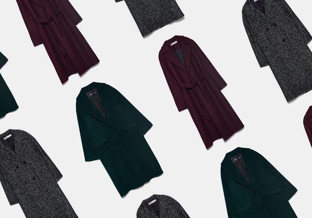 Les manteaux tendance 2020 qu'on peut déjà s'offrir chez Zara