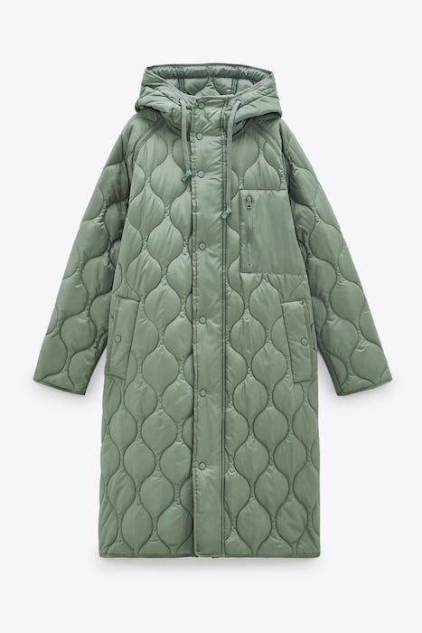 Manteau matelassé Zara