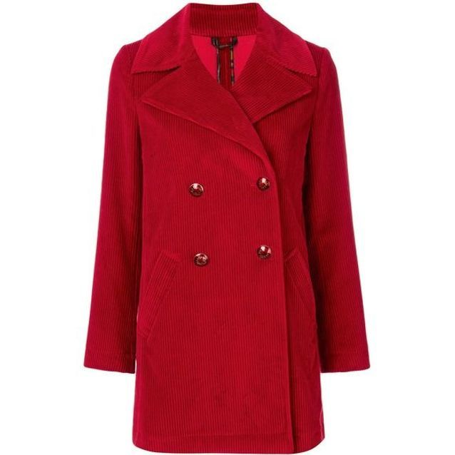Manteau rouge en velours Etro 20 manteaux rouges qui nous