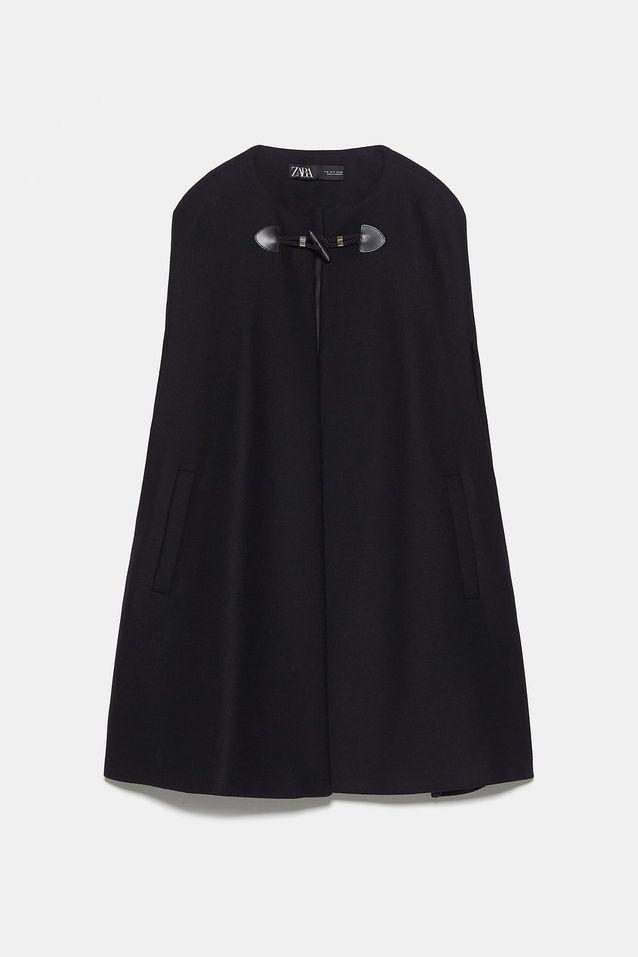 Cape longue à poches, Zara