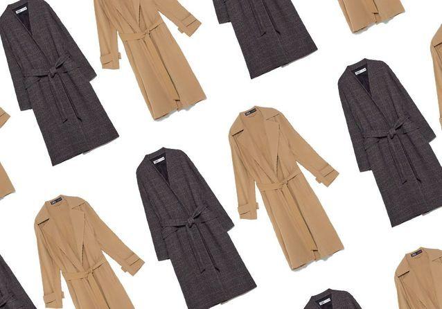 Zara : 15 manteaux soldés à shopper dès maintenant