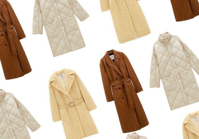 Zara : 20 manteaux soldés à shopper dès maintenant