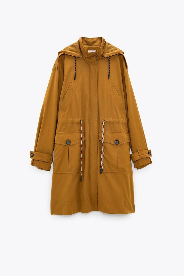 Manteau trench coat Zara