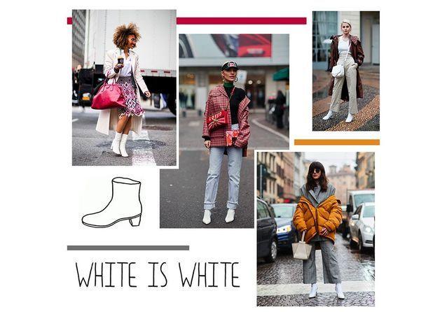 26b71b53295bb1 Bottines blanches : 50 photos street-style pour savoir comment ...