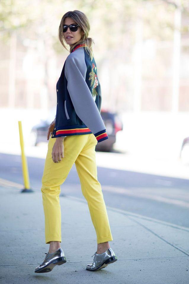 Comment être stylée en pantalon jaune